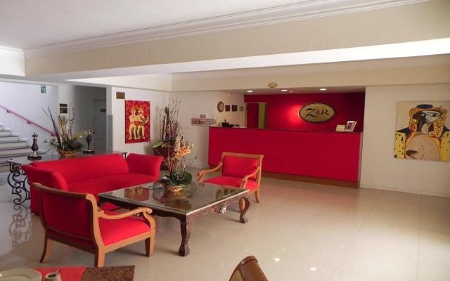 Hotel Zar Guadalajara, atención personalizada desde el inicio de tu estancia