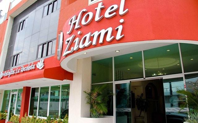 Hotel Ziami en Veracruz Puerto