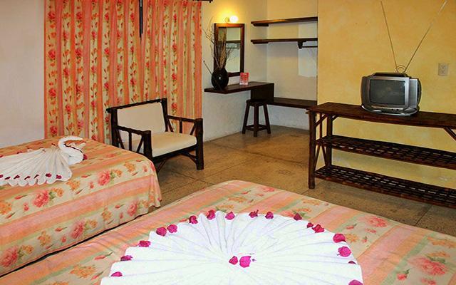 Hotel ZihuaCaracol, habitaciones con todas las amenidades
