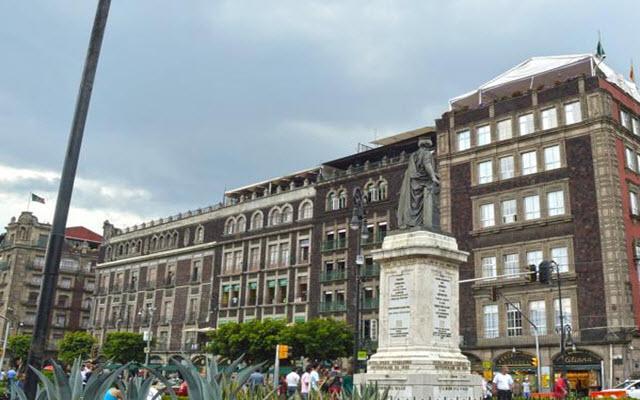 Hotel zocalo central ofertas de hoteles en ciudad de mexico - Zocalo exterior ...