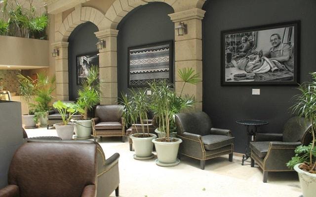 Hotel Zócalo Central, espacios de diseño