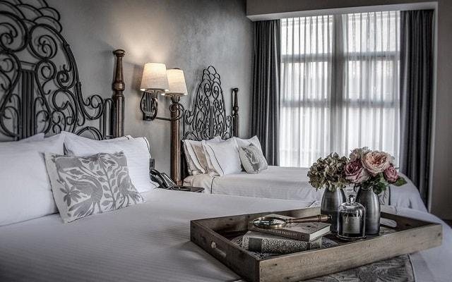 Hotel Zócalo Central, amplias y luminosas habitaciones
