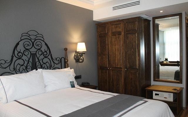 Hotel Zócalo Central, habitaciones bien equipadas