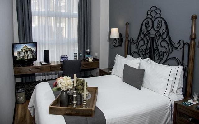 Hotel Zócalo Central, espacios diseñados para tu descanso