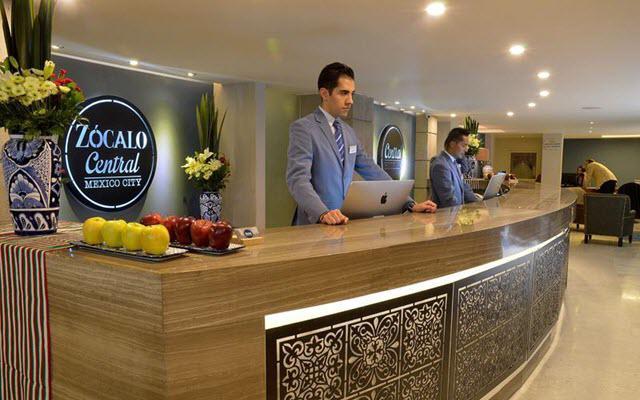Hotel Zócalo Central, atención personalizada desde el inicio de tu estancia