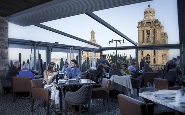 Hotel Zócalo Central, escenario ideal para tus alimentos