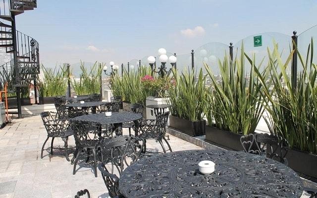 Hotel Zócalo Central, admira hermosas vistas de la ciudad