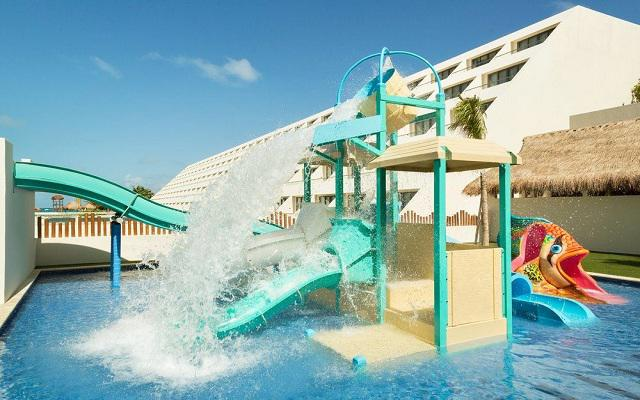 Hotel Hyatt Ziva Cancún, mini parque acuático