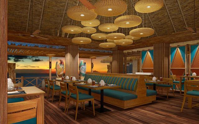 Hotel Hyatt Ziva Cancún, cuenta con 16 restaurantes y bares