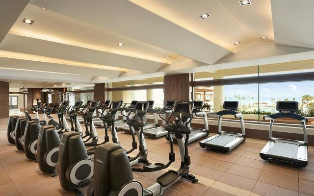 Hotel Hyatt Ziva Cancún, gimnasio totalmente equipado