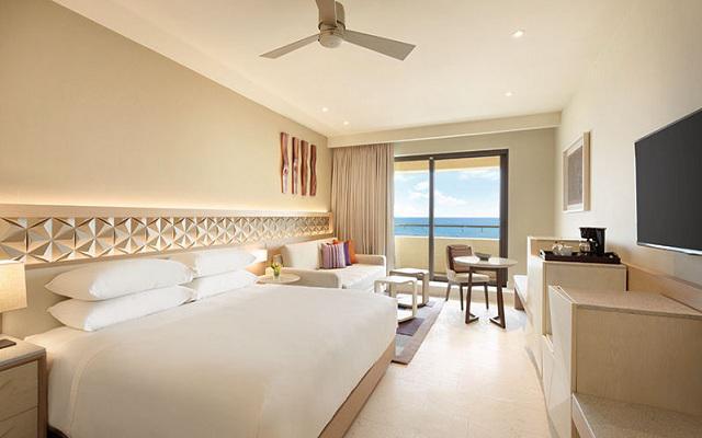 Hotel Hyatt Ziva Cancún, suites con vista al mar