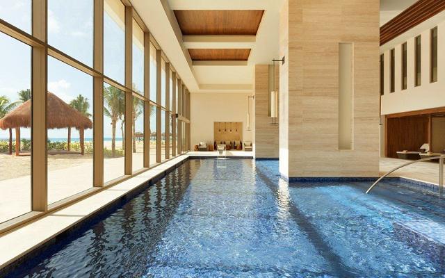Hotel Hyatt Ziva Cancún, spa frente al mar