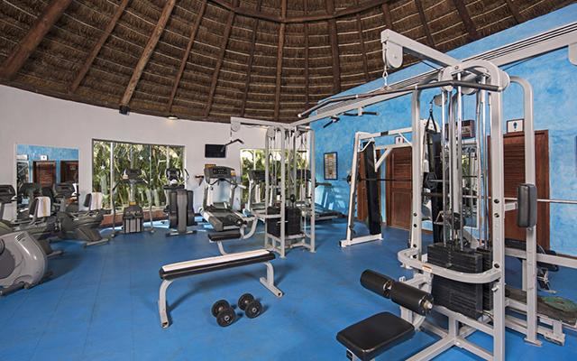 Iberostar Cozumel, gimnasio para uso exclusivo