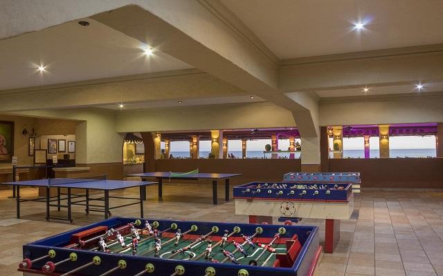 Hotel Playa Mazatlán - All Inclusive, salón de juegos