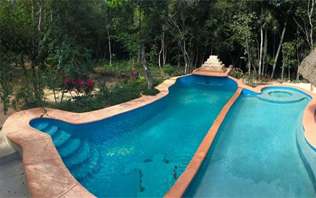 Jungle Secrets Riviera Maya Hotel Suites Boutique, disfruta de su alberca al aire libre