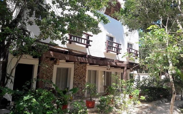 Jungle Secrets Riviera Maya Hotel Suites Boutique, buena ubicación