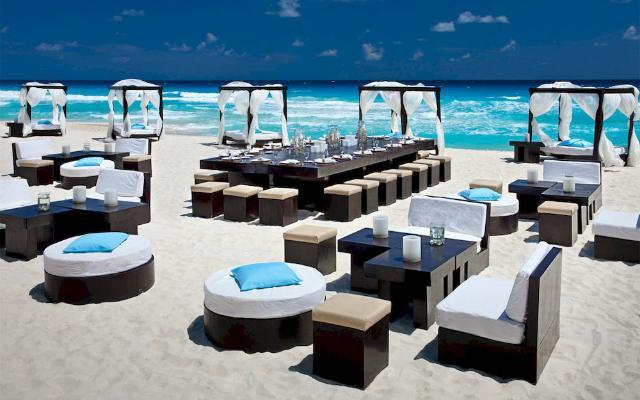 Instalaciones de LUjo en el  JW Marriott Cancún