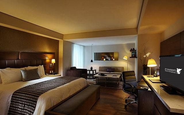 JW Marriott Hotel México City Santa Fe, habitaciones bien equipadas
