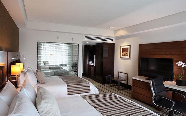 JW Marriott Hotel México City Santa Fe, habitaciones con todas las amenidades
