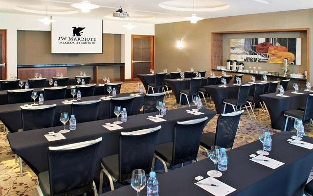 JW Marriott Hotel México City Santa Fe, instalaciones y servicios ejecutivos