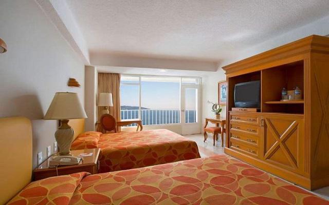Hotel krystal beach acapulco ofertas todo incluido for Habitaciones conectadas hotel