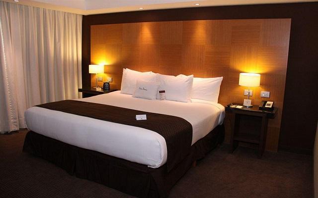 Algunas habitacones cuentan con cama king