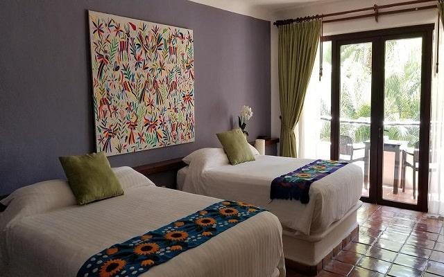La Tortuga Hotel & Spa, acogedoras habitaciones