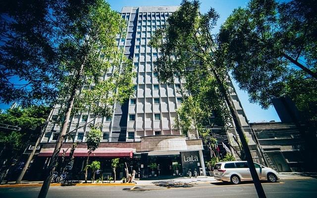 LaiLa Hotel CDMX, muy buena ubicación