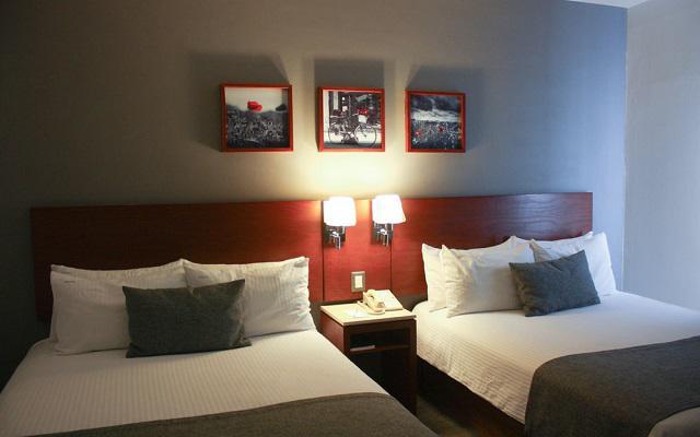LaiLa Hotel CDMX, amplias y acogedoras habitaciones