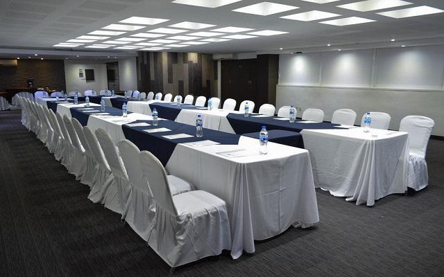 LaiLa Hotel CDMX, salones equipados como tu lo requieras