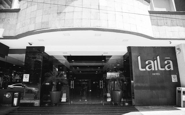 LaiLa Hotel CDMX, ingreso