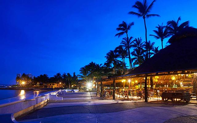 Las Palmas By The Sea All Inclusive, hermosa vista nocturna