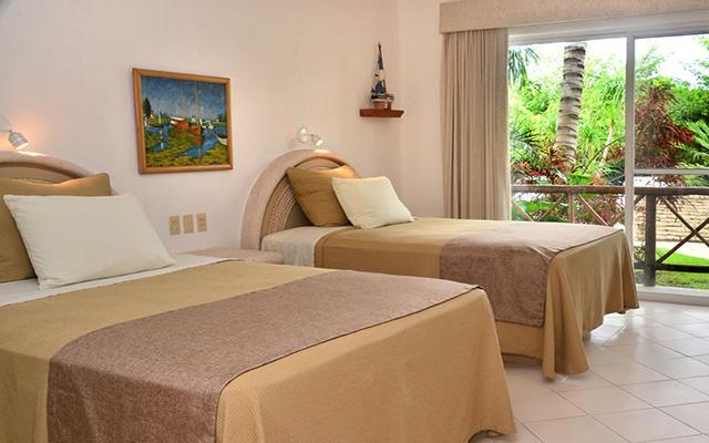 Hotel Las Villas Akumal, habitaciones amplias y luminosas