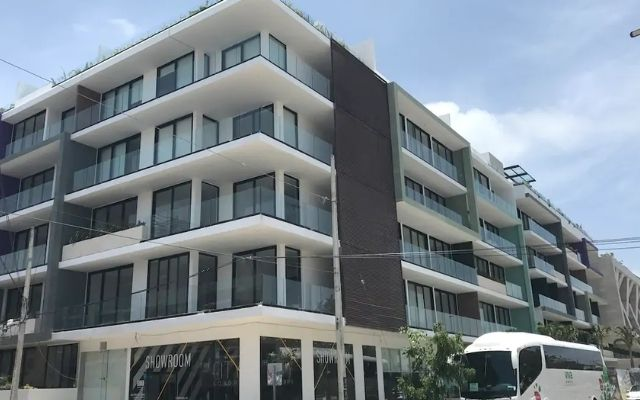 Loft Playa del Carmen Excelente Ubicación, fachada edificio