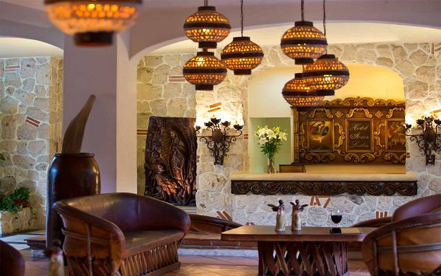 Instalaciones agradables con diseños y arquitectura mexicana