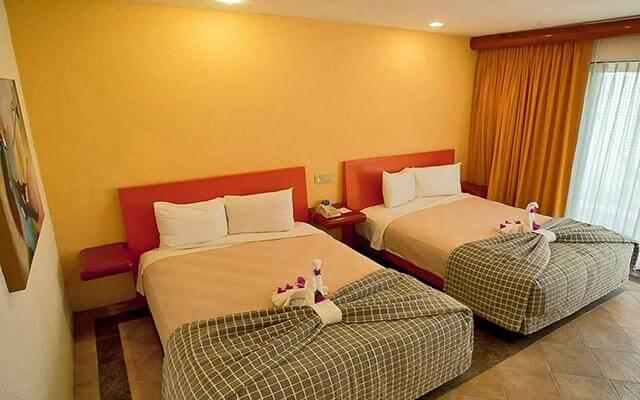 Los Patios Hotel, habitaciones con todas las amenidades