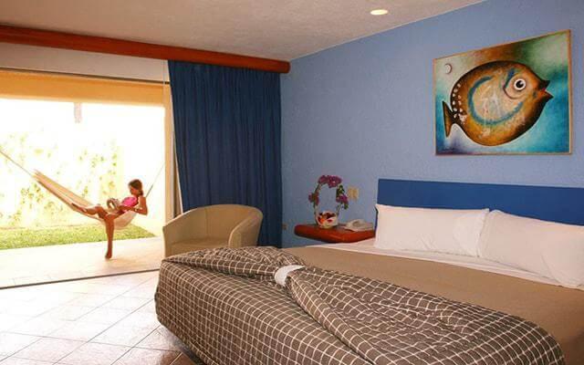 Los Patios Hotel, habitaciones cómodas y acogedoras