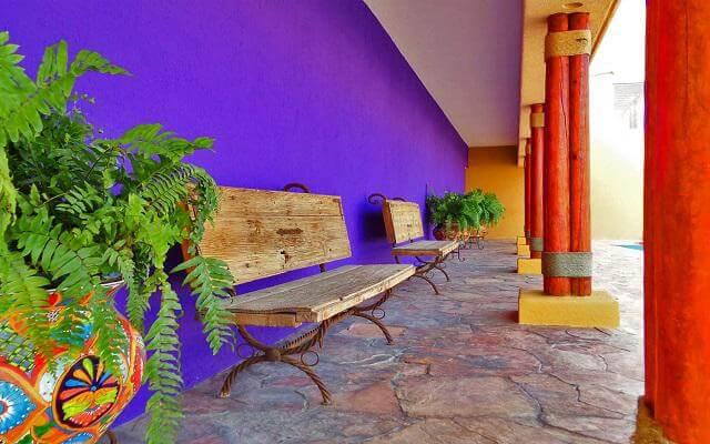 Los Patios Hotel, instalaciones limpias y acogedoras