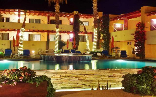Los Patios Hotel, hermosa vista nocturna