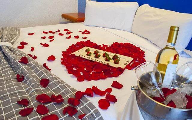 Los Patios Hotel, disfruta una noche romántica