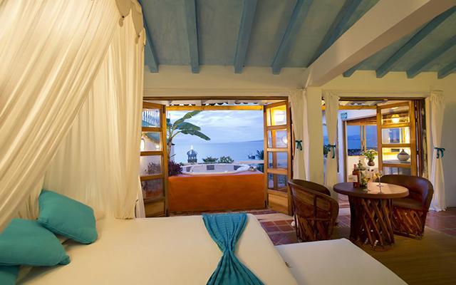 Luna Líquida Hotel Boutique, habitaciones cómodas y acogedoras con vista al mar
