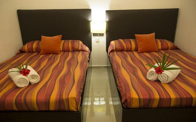 María Candelaria Hotel, habitaciones bien equipadas