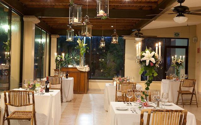 Hotel Misión Comanjilla, cenas con un ambiente romántico
