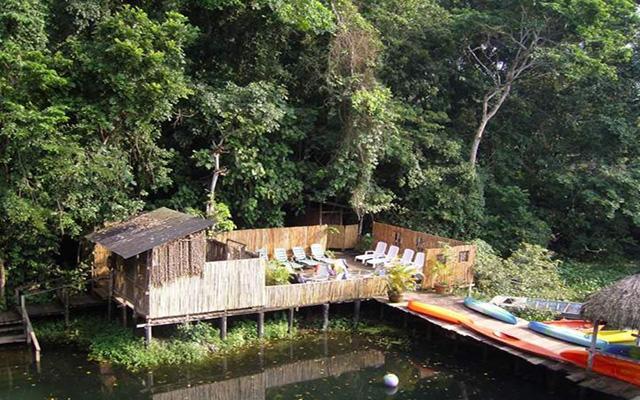 Nanciyaga Reserva Ecológica, ambiente rodeado de flora y fauna regional