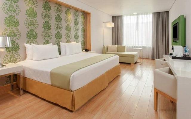 Las habitaciones tienen un estilo contemporáneo