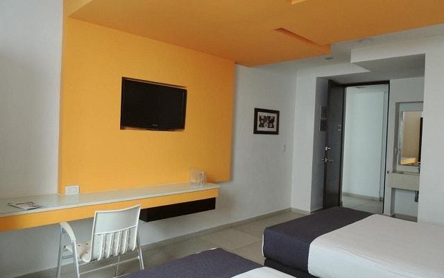 Nu Hotel, habitaciones bien equipadas