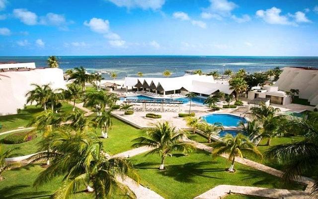 Ocean Spa Hotel, vista aérea