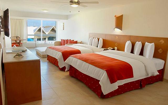 Ocean Spa Hotel, habitaciones bien equipadas