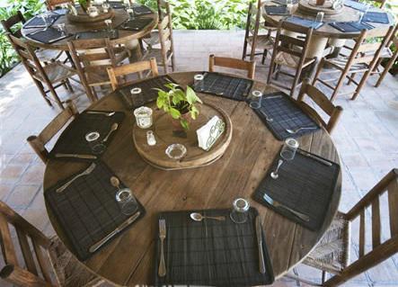 Restaurante del hotel Okavango