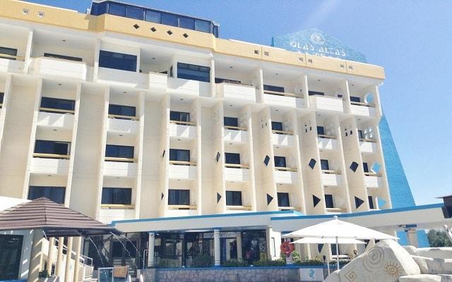 Olas Altas Inn Hotel and Spa, buena ubicación